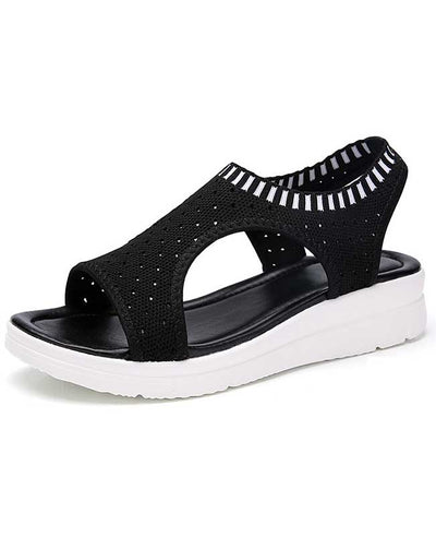 Women Summer White Platform Sandals