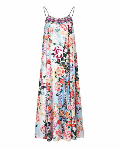 Womens Flowy Boho Maxi Dress-7