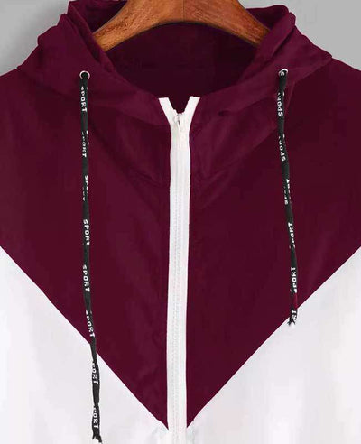 Zipper Pockets Hooded Jacket-11