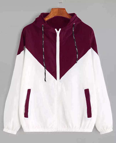 Zipper Pockets Hooded Jacket-1
