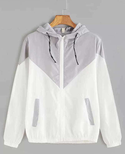 Zipper Pockets Hooded Jacket-4