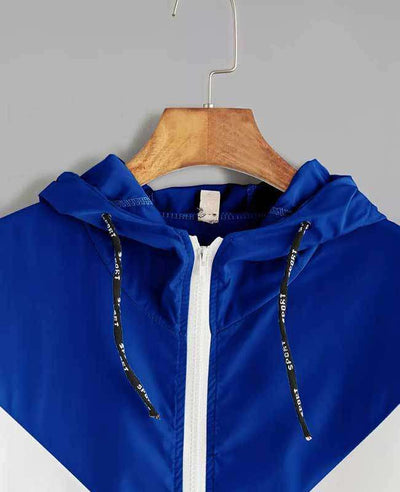 Zipper Pockets Hooded Jacket-12