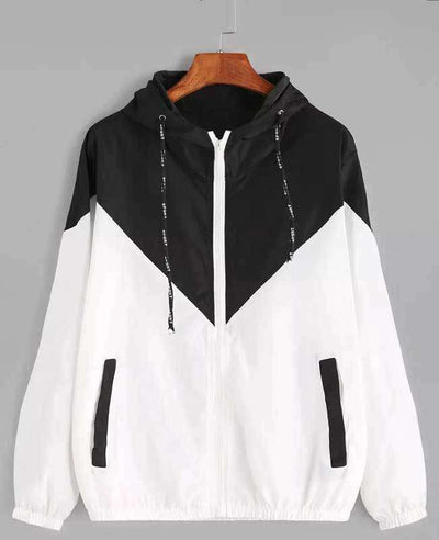Zipper Pockets Hooded Jacket-3