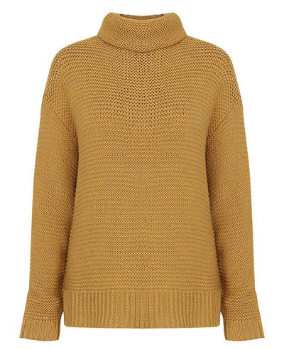 Women Oversized Chunky Sweater-10