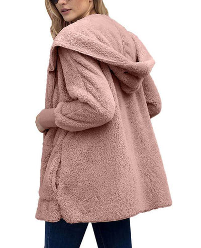 Faux Fur Open Cardigan Mink Coat