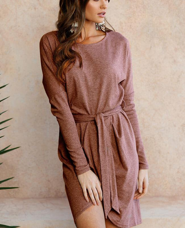 Long Sleeve Tight Dress