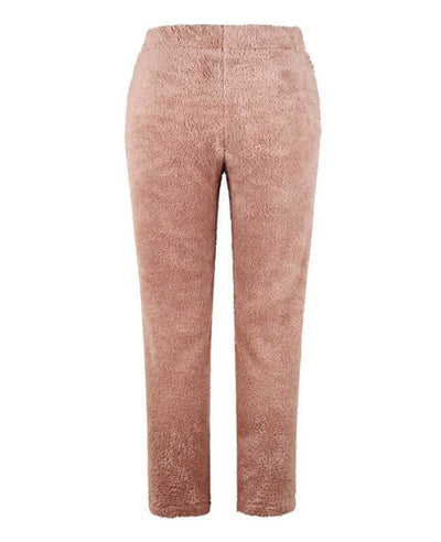 Pull on Coral Fleece Pants