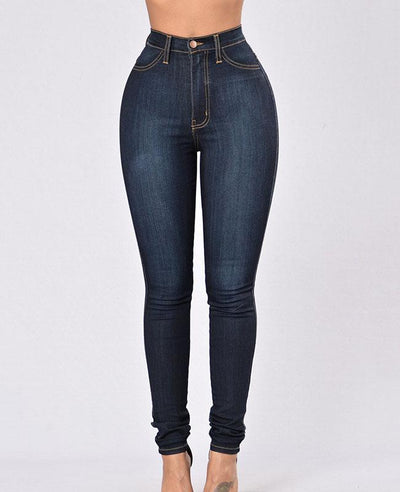 Slim Leg High Waisted Skinny Jeans