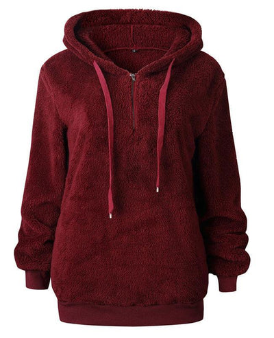Teddy Bear Hooded Fleece Hoodie