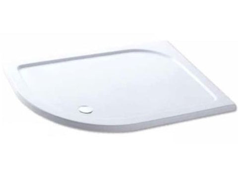 Eastbrook Volente 158.706 Offset Quad LH Shower Tray 1000 X 700 Stone / Resin