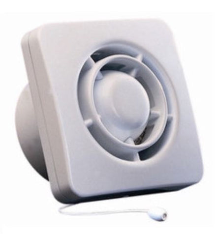 Domus P15KR 150mm Axial Fan & Wall Kit