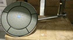 250mm Fixed Round Shower Head With Wall Arm RRP £155 Inc Vat