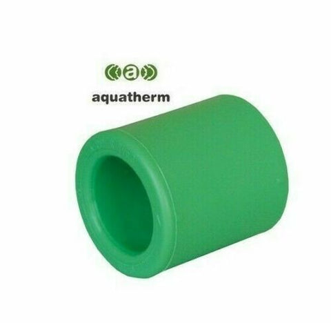 Pack Of 5 - Socket / Coupling Aquatherm F/F 40MM Fusiotherm Tube Green Qty 5