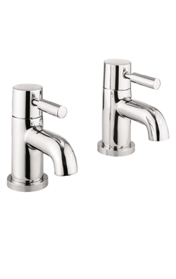 Thirty6 MyHome Basin Mixer Tap With Click-Clac Waste in Chrome