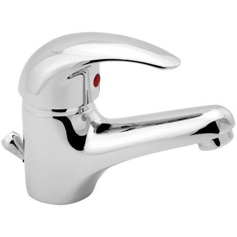 Deva EDR08/CP Eider Mono Basin Mixer Tap, Chrome, with Pop Up Waste