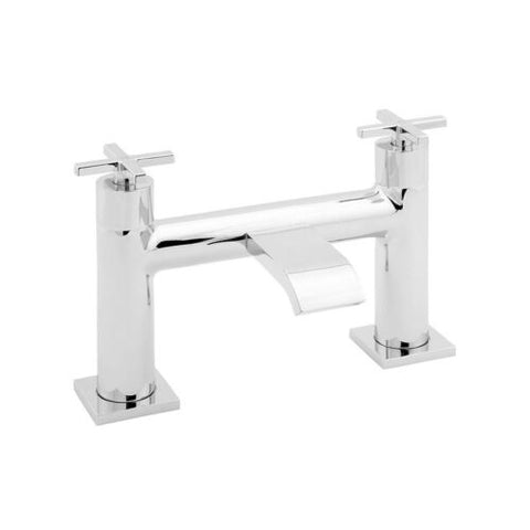 Deva Crux Traditional Bath Filler Tap - Chrome
