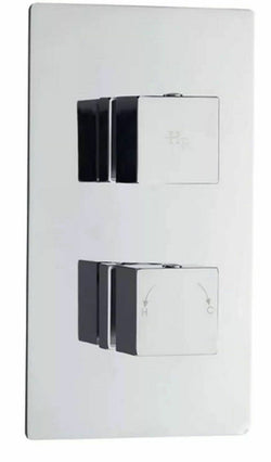 Eastbrook - Hudson Reed Kubix Twin Thermostatic Shower Valve 4.5006
