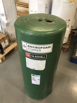 Gledhill 1050 X 400 Direct Hot Water Cylinder 114 Litres