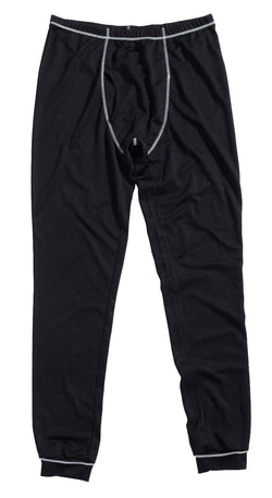 JCB Black Thermal Base Layer Pants Long Johns Underwear Trousers 100% Polyester