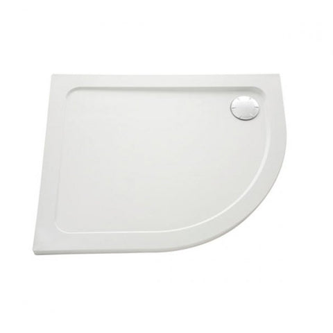 Mira Flight Safe Offset Quadrant Anti-Slip Shower Tray with Waste 1200mm x 900mm
