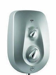 Mira Vie Electric Shower Front Cover Assembley Satin Silver 4.1788.525