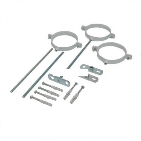 "VAILLANT ECOMAX / ECOTEC 4"" SUPPORT CLIPS ADJUSTABLE (PACK OF 3) 303935"