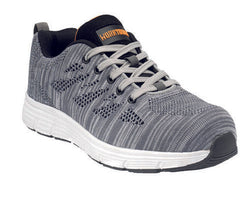 Worktough Rapid Safety Work Trainer Shoes Flyknit Grey Size 11