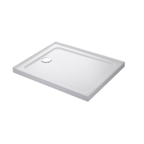 Mira Flight Low Rectangular Shower Tray with Waste, 1200mm X 760mm, 4 Upstands