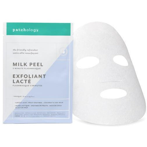 Milk Peel Flashmasque® 5 Minute Facial Sheets