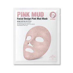 Facial Design Deep Pink Mud Mask