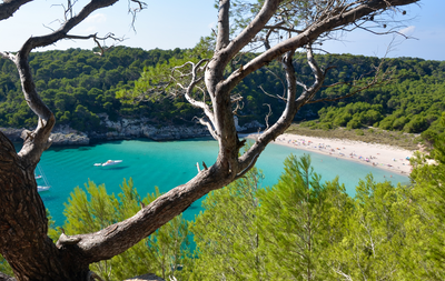 Menorca, four days between coves