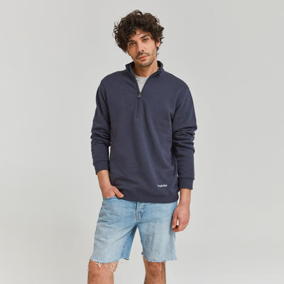 Tropicfeel Midzip Jumper Night Blue