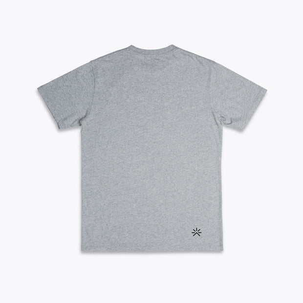 Beyond Travel Tee Light Grey