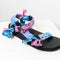 Trekky sandals by Arizona Love in Tie-dye mix