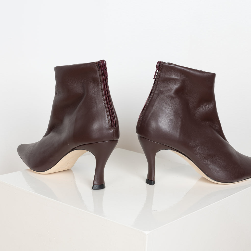 The Stevie Boots in dark brown by BYFAR