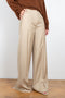 Loulou Studio wide leg Rapa trousers in beige