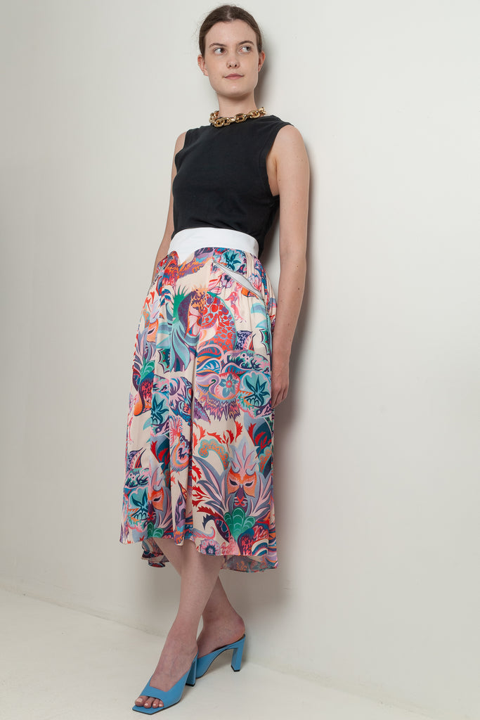 psychedelic skirt