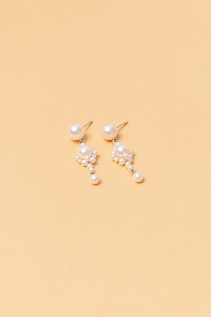 Venezia Pearl Earrings by Sophie Bille Brahe