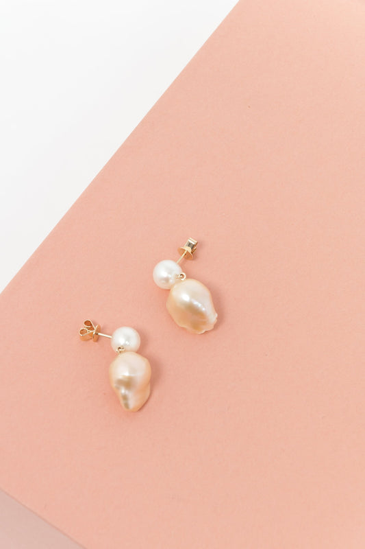 Sophie Bille Brahe Venus Rose Earrings