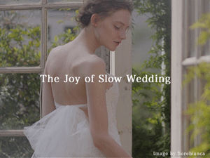 The Joy of Slow Wedding