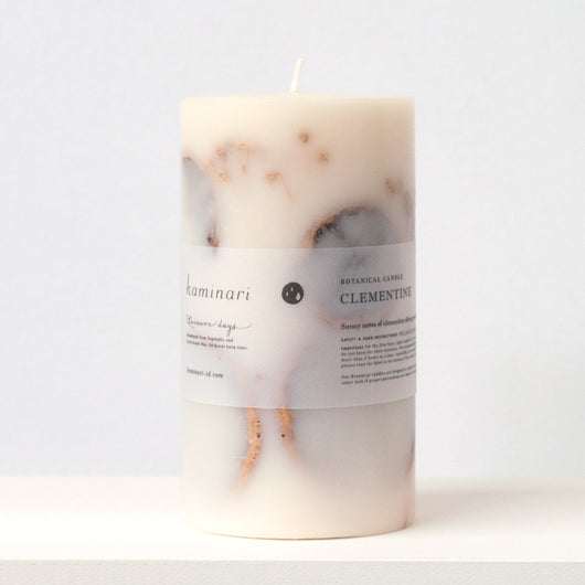 Clementine Botanical Candle M