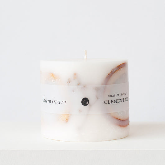 Clementine Botanical Candle S