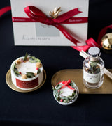 (PRE-ORDER) Christmas Wreath Candle