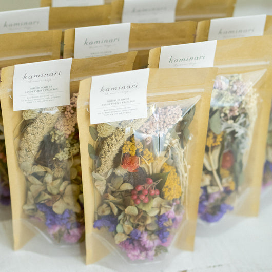 Dried Flower Assortment Package
