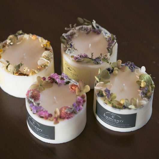 Wreath Candle