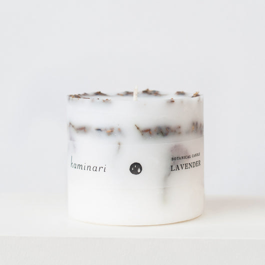 Lavender Botanical Candle S