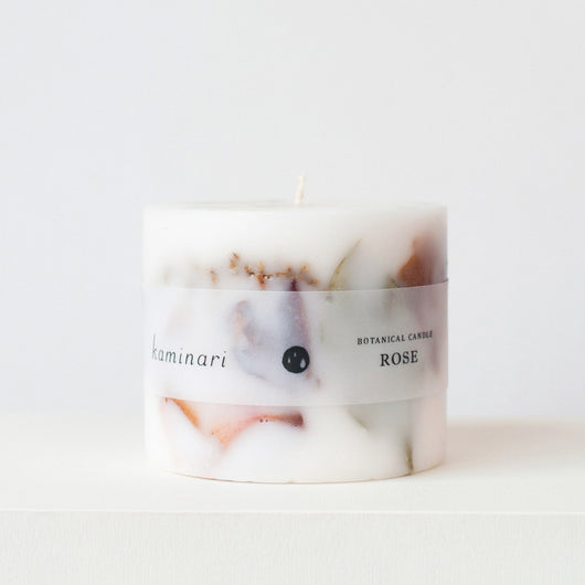 Rose Botanical Candle S