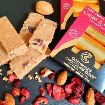Gold Bars of Truffley Fudge - Sour Cherry & Almond