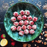 Strawberry and Lemon energy balls