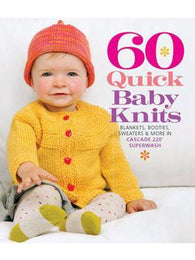 60 Quick Baby Knits - Mad Knitter's Yarn